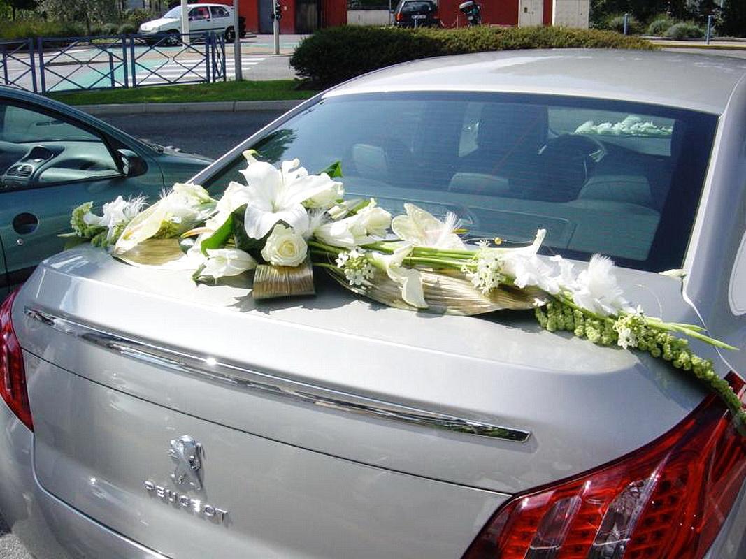 Voiture - Decoration de voiture mariage ...