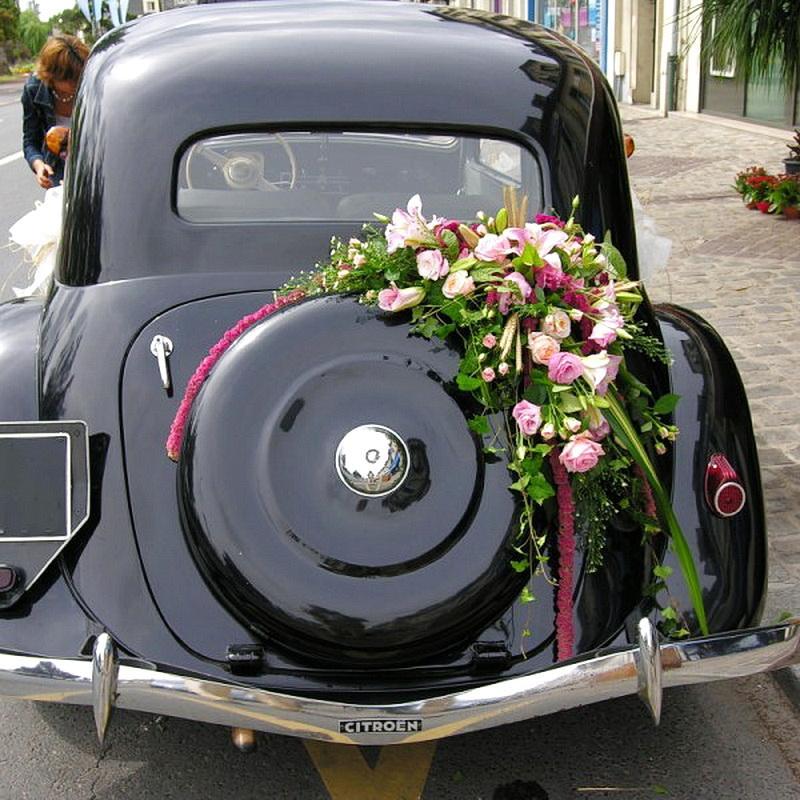 Decoration voiture mariage sans fleur best dco mariage - Decoration voiture mariage sans fleur ...